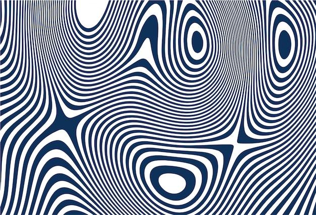 Turquoise naadloze zigzagpatroon