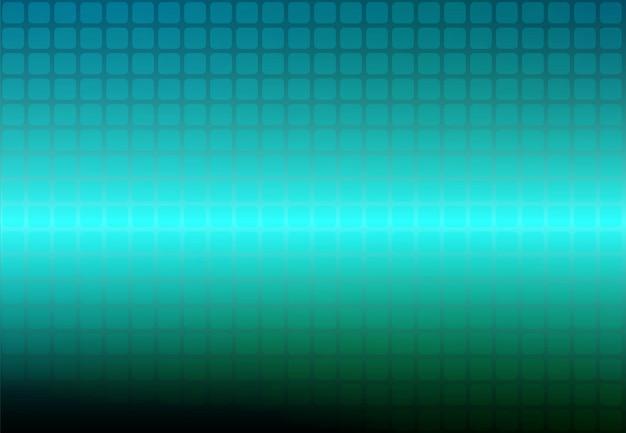 Turquoise tinten abstract afgeronde mozaïek achtergrond