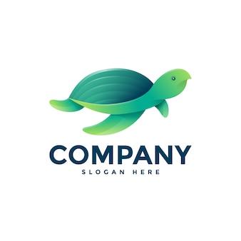 Turtle logo sjabloon