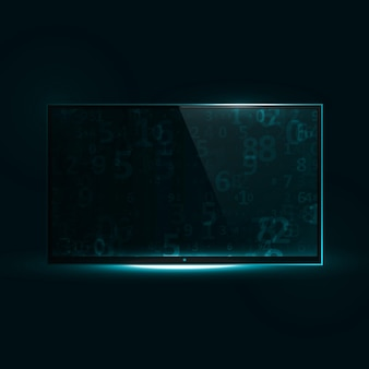 Tv flat screen icd.