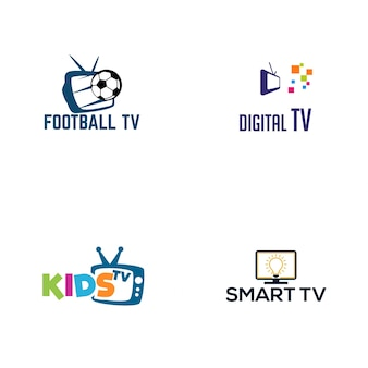 Tv logo design