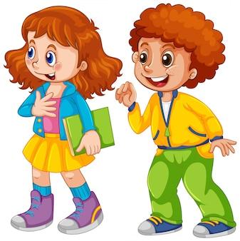 Twee kinderen