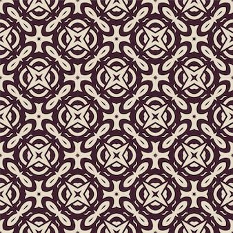 Twee kleuren eenvoudig patroon ornament achtergrond. naadloze abstracte vorm