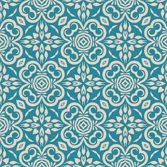 Twee kleuren naadloze abstracte vorm. eenvoudig patroon ornament achtergrond
