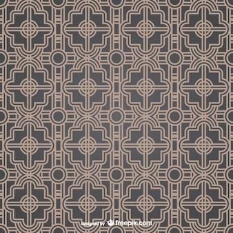 Twee kleuren patroon van het damast