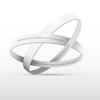 Twee witte ringen