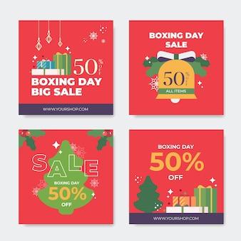 Tweede kerstdag verkoop instagram postverzameling