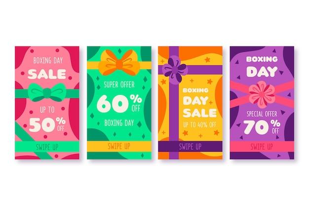 Tweede kerstdag verkoop instagram verhaalcollectie