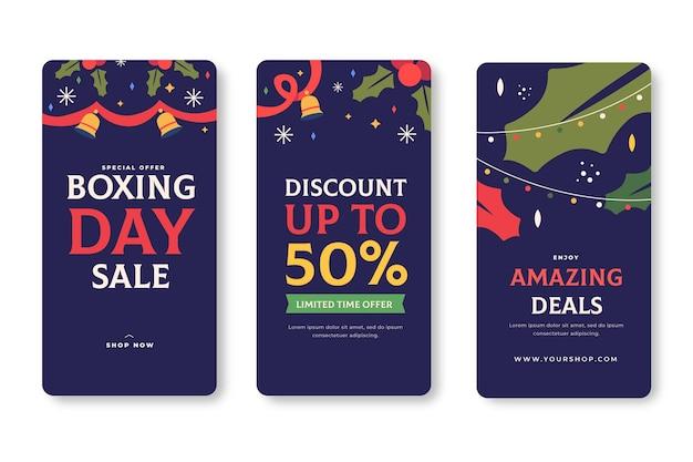 Tweede kerstdag verkoop instagram verhaalset