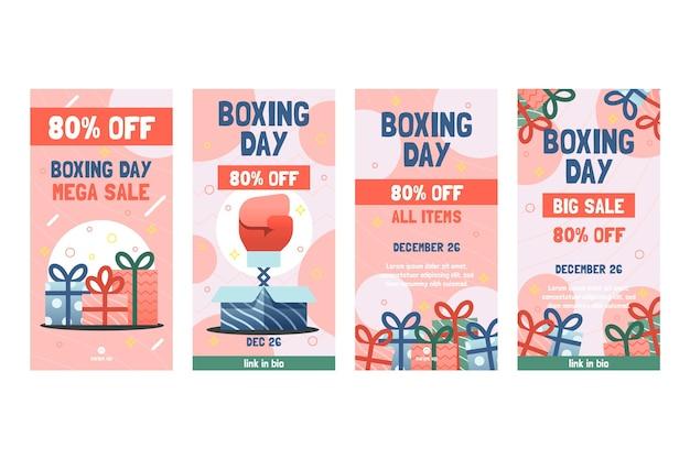 Tweede kerstdag verkoop instagram verhalencollectie