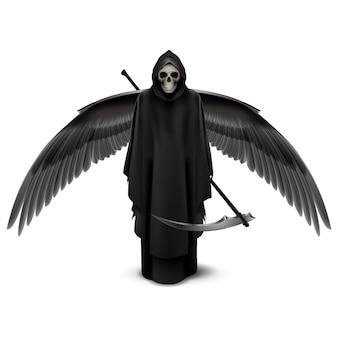 Tweevleugelige engel des doods