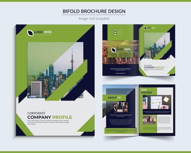 Tweevoudige brochure