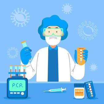 Type coronavirus-test