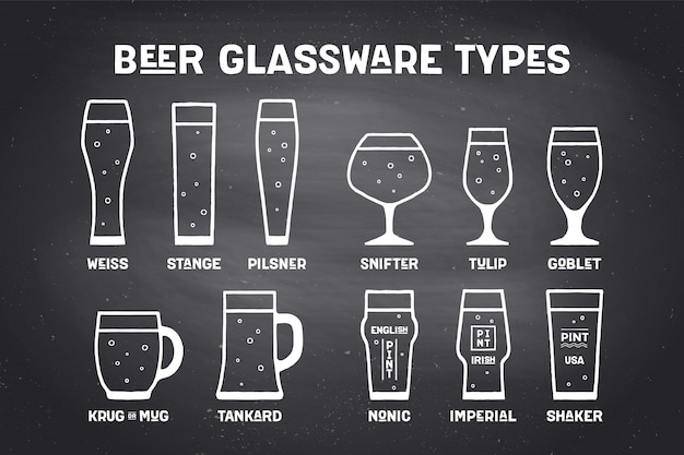 Types bierglaswerk