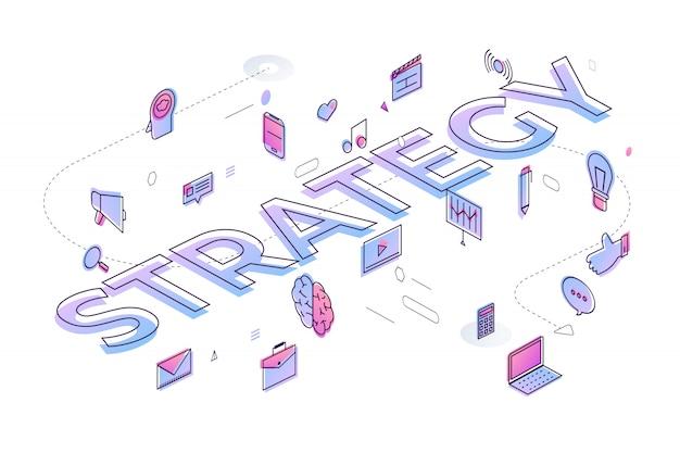 Typografie concept