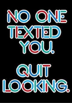 Typografie, quote & slogan.
