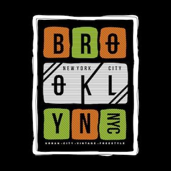 Typografie t-shirt ontwerp