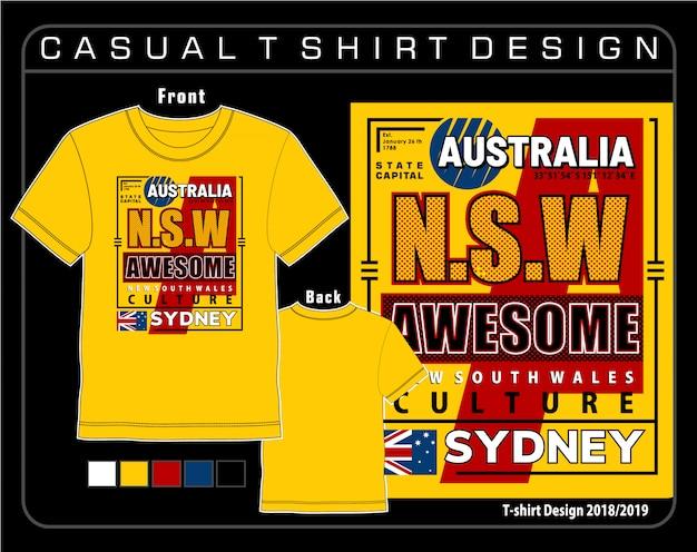 Typografie t-shirt