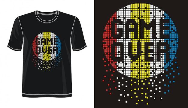 Typografie voor print t-shirt