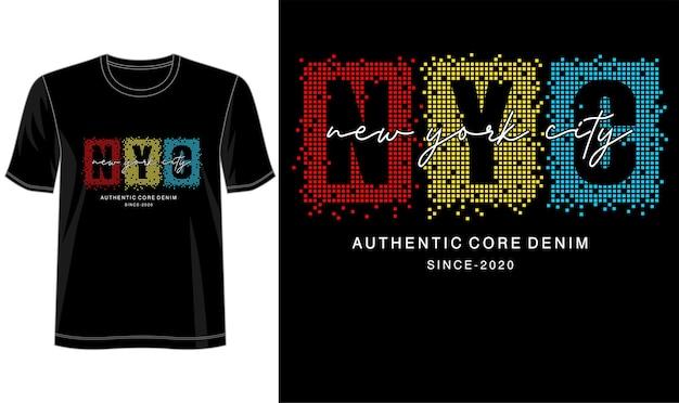 Typografieontwerp voor print t-shirt en meer