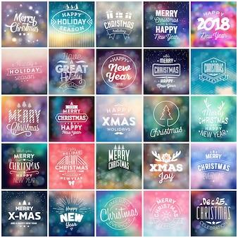 Typografische kerst