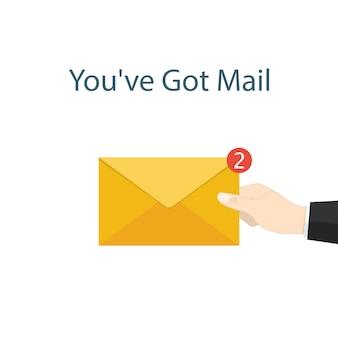 U heeft mail