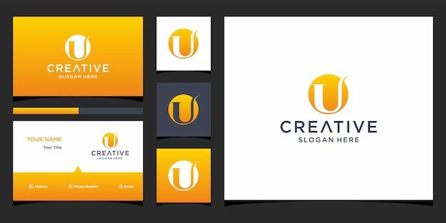 U-logo ontwerp