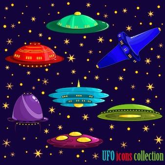 Ufo iconen collectie