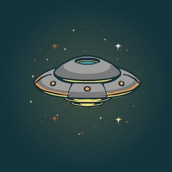 Ufo illustratie