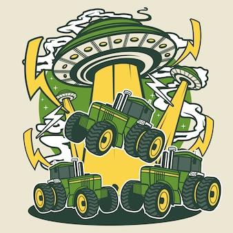 Ufo-tractor