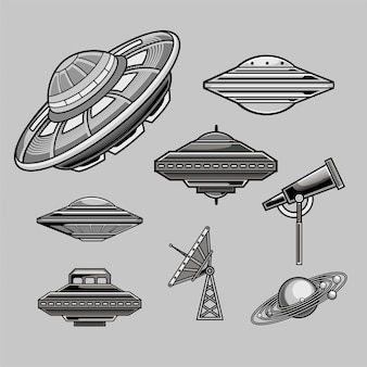 Ufo vector pack