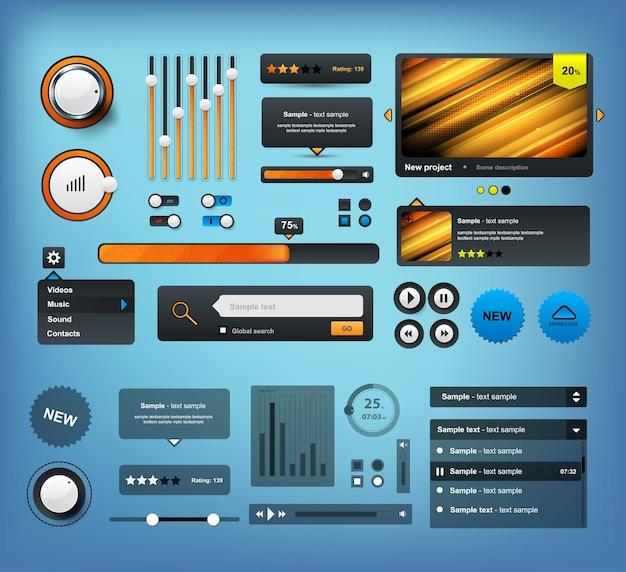 Ui-elementen ontwerpset
