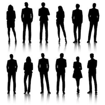 Ui illustratie mensen uit het bedrijfsleven concept