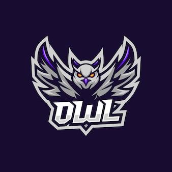 Uil esport logo geweldig