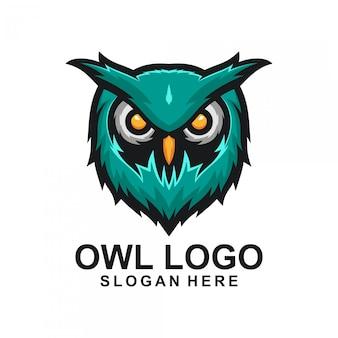 Uil logo ontwerp