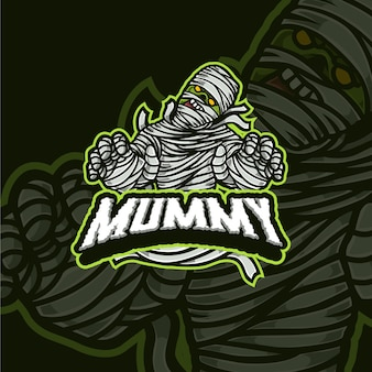 Uil mascotte esport gaming logo ontwerp