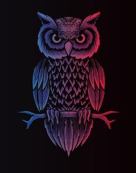 Uil vogel