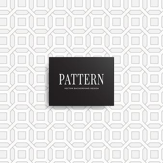 Uitbreidbaar geometrisch netto vierkant achthoekige patroonachtergrond