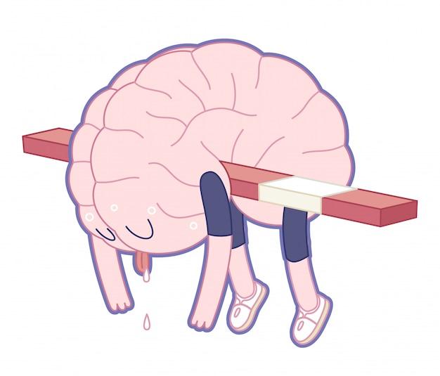 Uitgeput brein