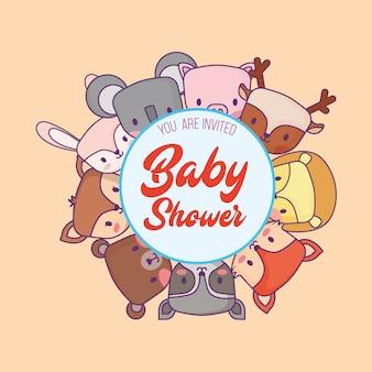 Uitnodiging voor baby shower