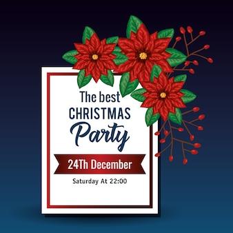 Uitnodiging voor kerstfeest