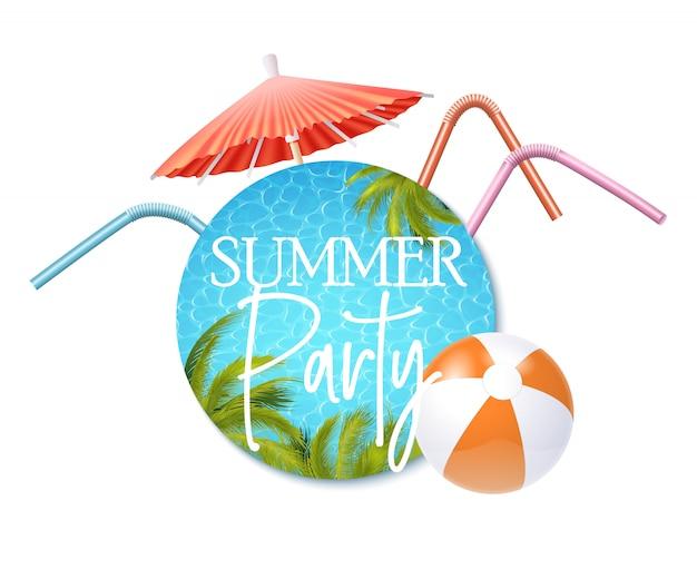 Uitnodiging voor zomerfeest