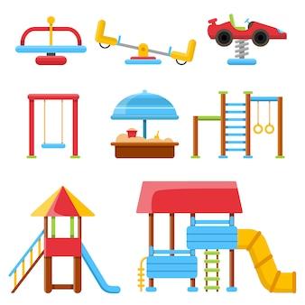 Uitrusting voor kinderspeelplaats