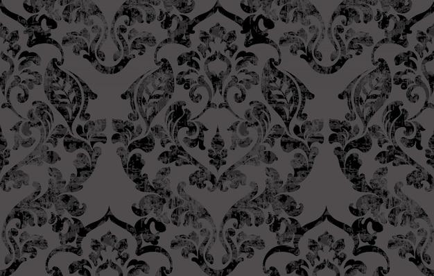 Uitstekend barok victorian patroon