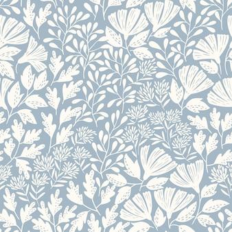 Uitstekend bloem naadloos patroon