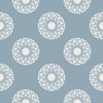 Uitstekend bloemen naadloos patroon. vector. naadloze textuur met bloemen. eindeloos bloemenpatroon.