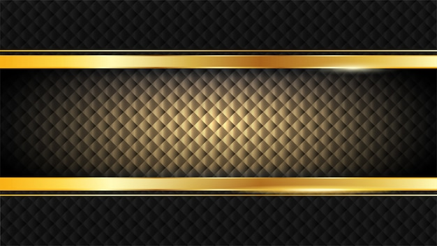 Uitstekend glanzend gouden frame