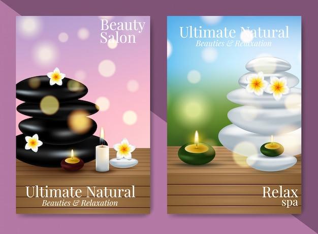 Uitstekende cosmetische advertenties, gezichtscrème en handcrème.