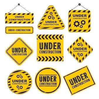 Under construction badge-logo