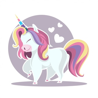 Unicorn illustratie